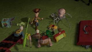 Woody and the Mutant Toys make plans to save Buzz from the clutches of Sid.