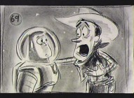 "Buzz and Woody struggle to understand one another in the highly amusing new deleted scene ""Eastern Gate."""