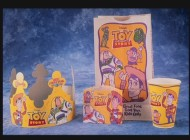 """Toy Story"" takes over Burger King in this still seen in the ""Toys & Stuff"" slideshow from the Publicity section."
