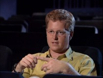 "Writer Andrew Stanton appears in ""Making 'Toy Story 2'"", a new featurette composed entirely of old footage."