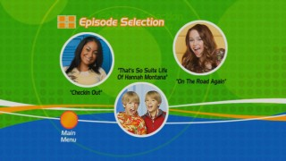 The Episode Selection menu gives you the option to choose from the live action Disney Channel comedy that suits you best. Of course, there's a reason why you'd play them all in succession.
