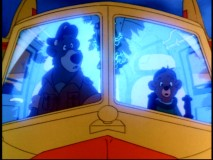 "Baloo and Kit switch bodies in the Freaky Friday-like episode ""A Baloo Switcheroo."""