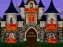 "A randomly-arranged castle which makes up the ""Timeless Tales: Volume One"" Main Menu."