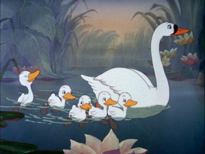 A family more beautiful than any of those who turned the 'ugly' duckling away.