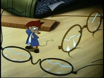 "Amos stumbles upon bifocals, one of several inventions his ""friend"" Benjamin Franklin takes credit for."