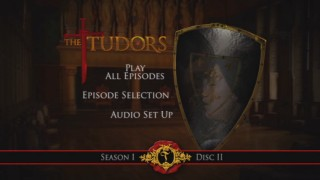 """The Tudors""' steamy main menu invites viewers to seduce it."