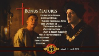 The Bonus Features menu provides the bulk of Disc 4's contents.
