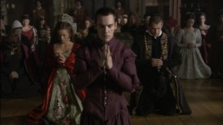 King Henry VIII leads his people in prayer.