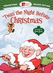 'Twas the Night Before Christmas: Remastered Deluxe Edition DVD cover art -- click to buy from Amazon.com