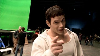 "Kellan Lutz boasts about being the fastest cast member in ""Pre-Production: Setting the Stage."""