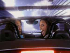 Roads? Where they're going, they don't need roads. Tia and Tamera go Back to... the Coventry.
