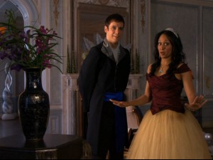 Camryn (Tamera Mowry) has a secretive new love interest (Christian Gallinger) teach her some magical restraint.