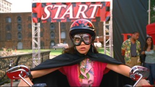 "When one of the ""Player"" biker chicks falls ill, Betty (America Ferrera) takes it upon herself to fill in."