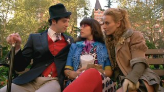 Secret meetings are a tradition of Mode employees, and Marc (Michael Urie) and Amanda (Becki Newton) carry this on with Betty (America Ferrera) to determine how to oust Kimmie.