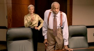 Mr. Hamilton (Bill Cobbs) and Miss Hastings ('60s Catwoman and 1955 Miss America Lee Meriwether) are the company employees who deal directly with Jason on his path towards the Ultimate Gift.