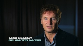 """Known Action Hero"" Liam Neeson chats about the film in one of two short Blu-ray bonus features."