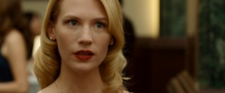 Liz Harris (a vacant January Jones) claims to have never before seen her so-called husband.