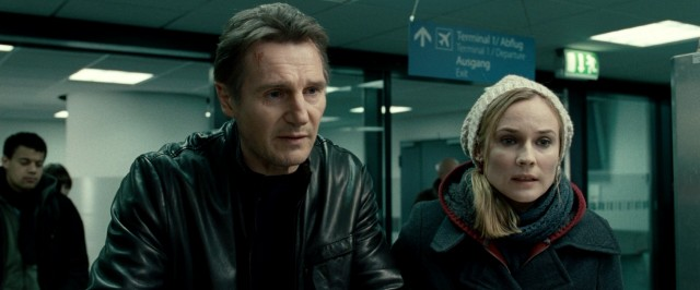 Martin (Liam Neeson) and Gina (Diane Kruger) pursue the misplaced suitcase with which their crazy shared journey began.