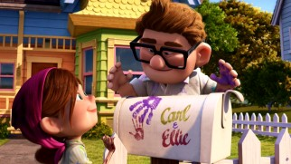 "With no words, ""Up"" delivers one of cinema's most moving sequences in this prologue montage depicting Carl and Ellie's blissful married life."