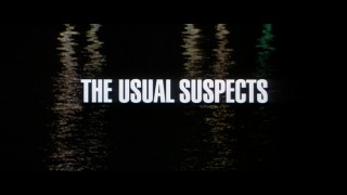 "The original theatrical trailer for ""The Usual Suspects"" touts the not quite A-list cast over the same darkened bay with which the film opens."