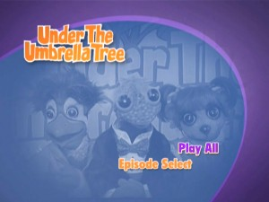 The animated main menu cycles through a number of images seen from the disc's contents.