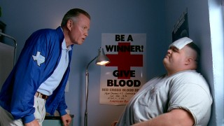 So driven to win is Coach Kilmer (Jon Voight) that he's willing to trivialize serious health issues of players like the morbidly obese Billy Bob (Ron Lester).
