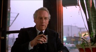 "Paul Newman plays Frank Galvin, the washed-up, alcoholic attorney at the center of ""The Verdict."""