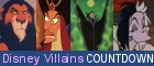 Count down the best of Disney's villains!
