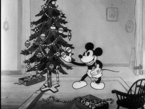 "Celebrate Christmas with Mickey in the charming cartoon ""Mickey's Orphans."" You know you want to."