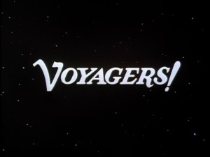 The Voyagers! title screen appears in outer space in all but the pilot episode.
