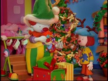 "Stop-motion animation is employed for ""A Circus Town Christmas"" and other ""JoJo's Circus"" episodes."