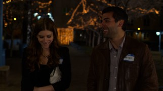 Musician Reeves (Isaac Oscar) enjoys a night walk with the physics classmate (Kate Mara) that he's never gotten out of his mind.