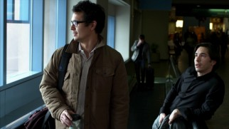 A.J. (Max Minghella) and Marty (Justin Long) head home in this deleted scene set the morning after the reunion.