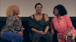 Darlene Love, Lisa Fischer, and Merry Clayton do more than just answer questions in the New York Times Talks Q & A session.