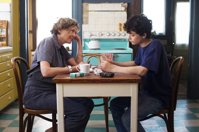"Mike Mills' semiautobiographical ""20th Century Women"" tells the story of a single mother (Annette Bening) raising a teenaged son (Lucas Jade Zumann) in 1970s California."