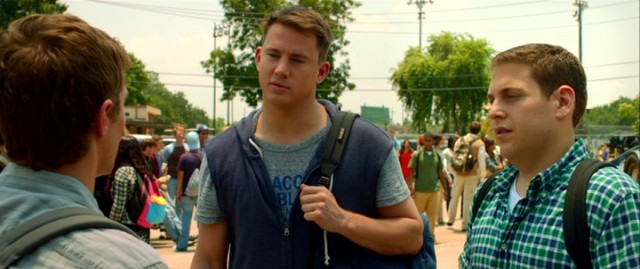 Seven years after graduating high school, Greg Jenko (Channing Tatum) and Morton Schmidt (Jonah Hill) re-enroll as part of an undercover police program.
