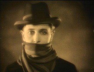 "A scene from ""The Lodger"", the silent film considered the first Hitchcock thriller  features in ""Hitchcock: The Early Years."""