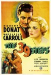 The 39 Steps (1935) movie poster