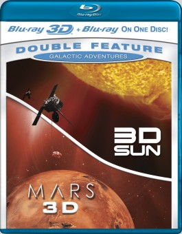 3D Sun & Mars 3D: Galactic Adventures Double Feature Blu-ray 3D/2D cover art -- click to buy from Amazon.com