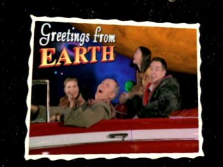 "This animated ""Greetings from Earth"" postcard of the Solomons appears near the beginning of most of the early ""3rd Rock"" episodes."