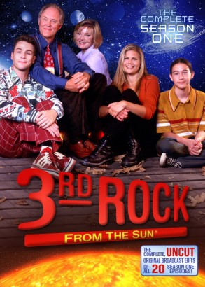3rd Rock from the Sun: The Complete Season One DVD cover art -- click to buy from Amazon.com