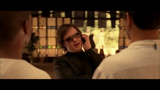 Aaron (Clark Duke) gets a cool makeover in this so-called alternate ending.