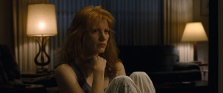 Curtis' wife Samantha (Jessica Chastain) is confused and concerned by her husband's distracted recent behavior.