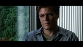 Curtis (Michael Shannon) opens up some in this deleted counseling scene.