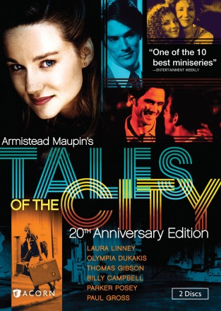 Armistead Maupin's Tales of the City: 20th Anniversary Edition DVD cover art -- click to buy from Amazon.com