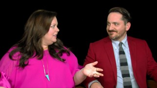 Melissa McCarthy and husband/director/co-writer Ben Falcone discuss their family's latest road trip.
