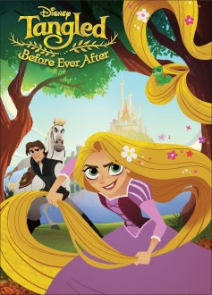 Disney's Tangled Before Ever After DVD cover art -- click to buy from Amazon.com