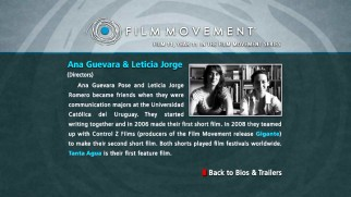 A joint biography for writers-directors Ana Guevara (Pose) and Leticia Jorge (Romero) tells us little.