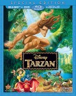 Tarzan: Blu-ray + DVD + Digital HD Digital Copy cover art
