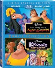 The Emperor's New Groove & Kronk's New Groove (2 Movie Collection Blu-ray + DVD) - June 11